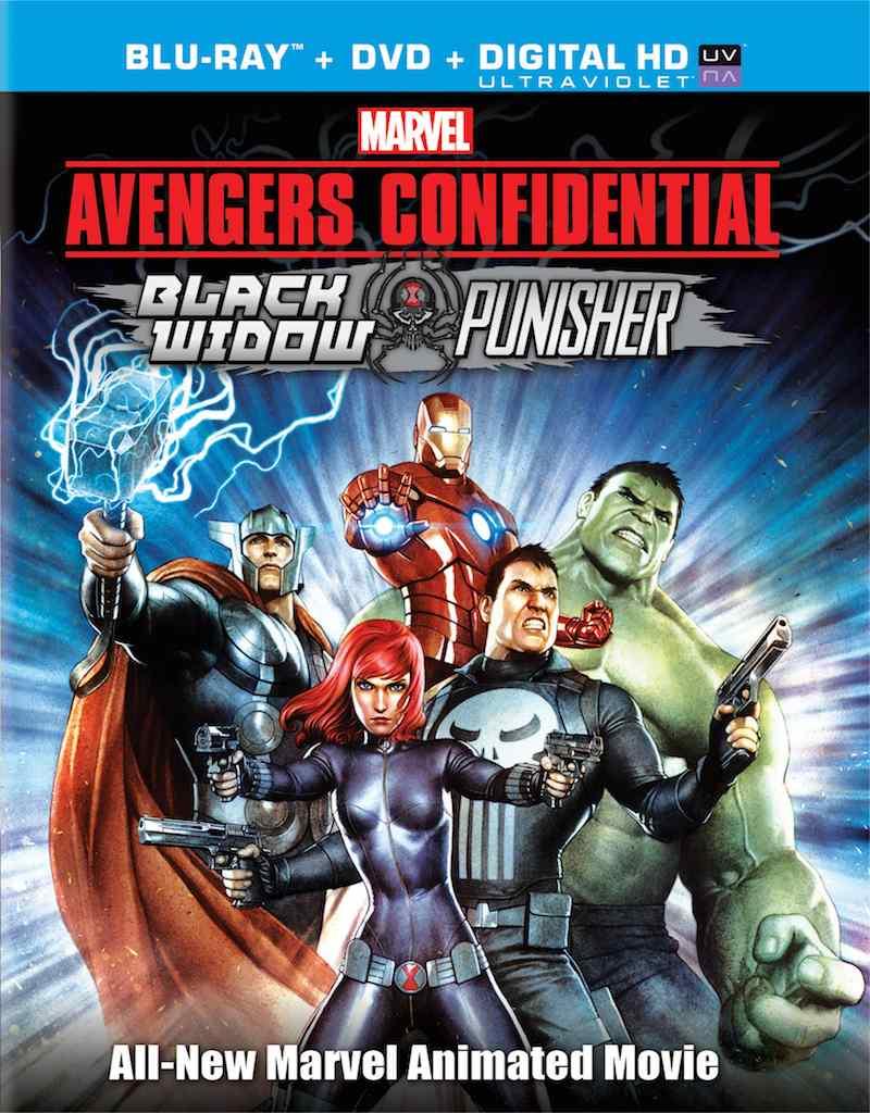 Avengers Confidential: Black Widow & Punisher DVD/Blu-Ray Review -  paulsemel.compaulsemel.com