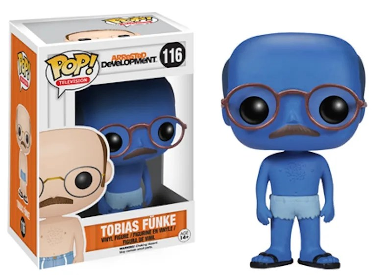 Arrested Development POP 116 Tobias Funke blue