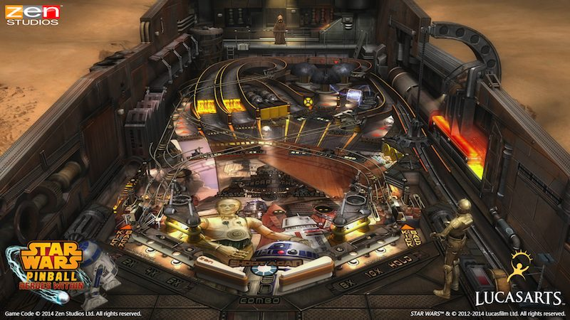 Star Wars Pinball Heroes Within Droids
