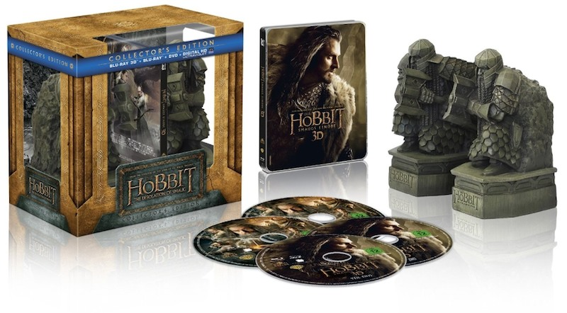 The Hobbit The Desolation Of Smaug bookends