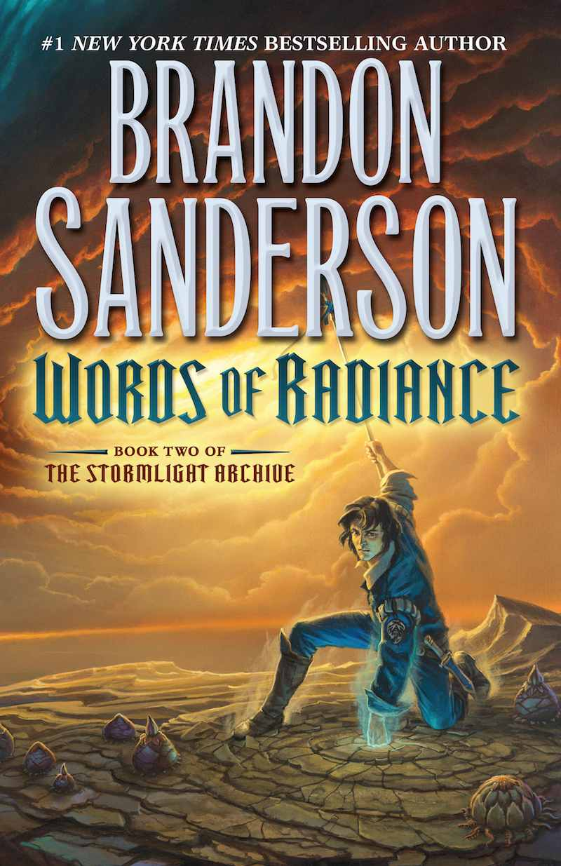 Brandon Sanderson The Stormlight Archive Words Of Radiance cover