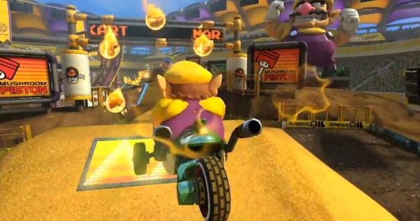 Mario Kart 8 Wario