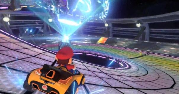 Mario Kart 8 steering