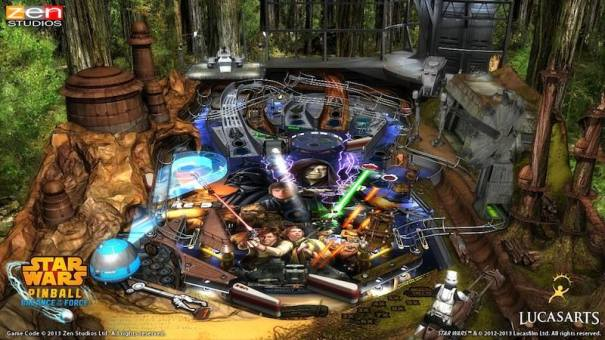 Zen Pinball Star Wars Episode VI