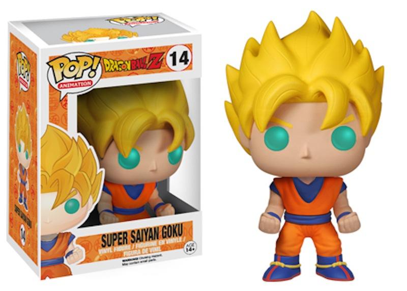 Dragon Ball Z Funko 14 Super Saiyan Goku