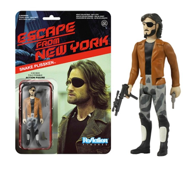 Escape From New York Snake Plissken with coat