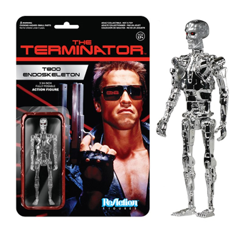 Funko The Terminator shiny Endoskeleton