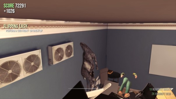 Goat Simulator bug