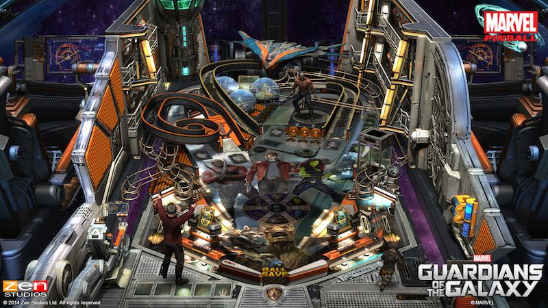 Guardians Of The Galazy Zen Pinball 2 Pinball FX 2 01