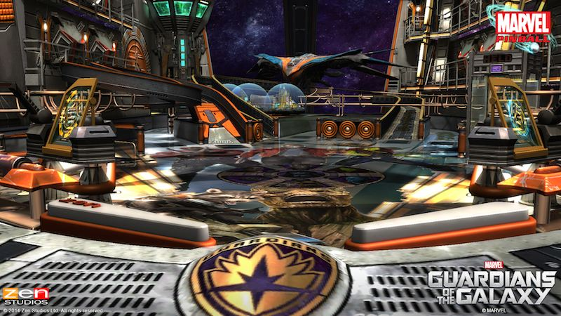 Guardians Of The Galazy Zen Pinball 2 Pinball FX 2 02