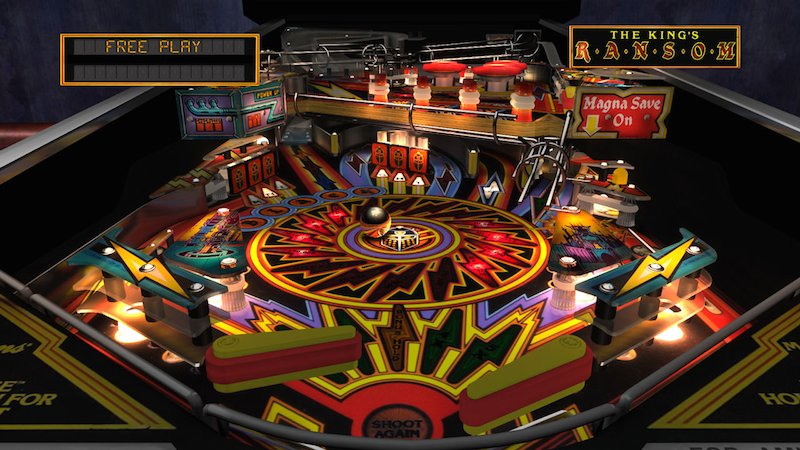 The Pinball Arcade Black Knight 2000