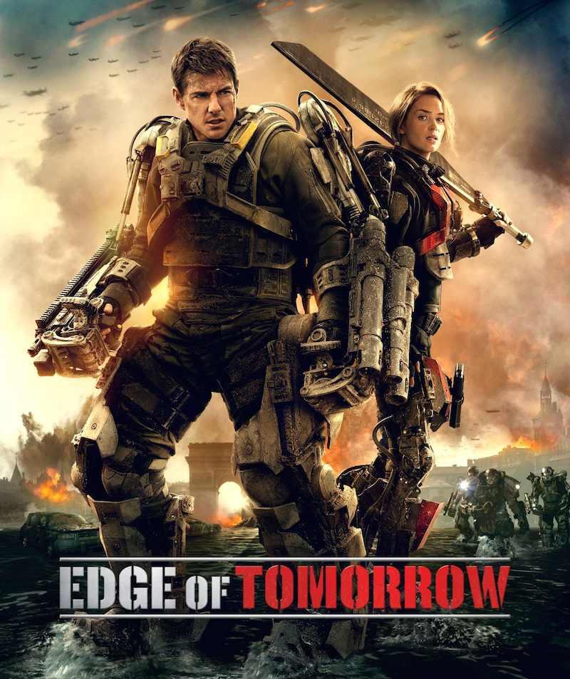 Edge Of Tomorrow cover