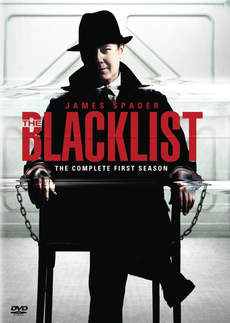 The Blacklist The Complete First Season cover