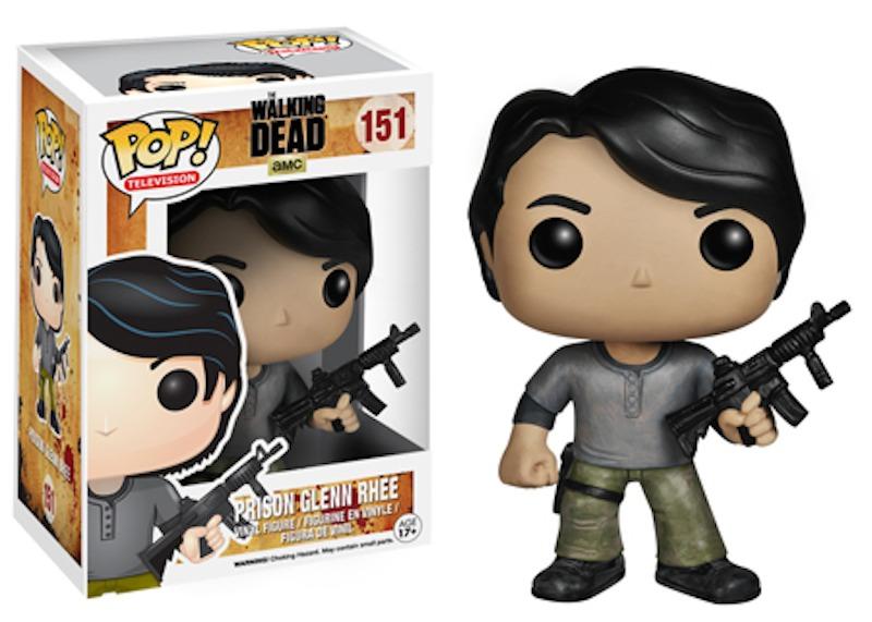 The Walking Dead Series 5 Funko POP 151 Prison Glenn Rhee