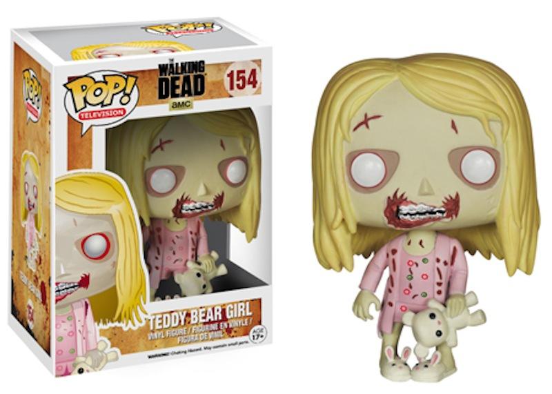 The Walking Dead Series 5 Funko POP 154 Teddy Bear Girl