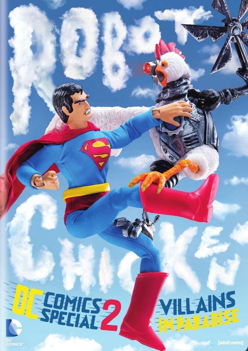 Robot Chicken DC Comics Special 2 Villains In Paradise DVD cover
