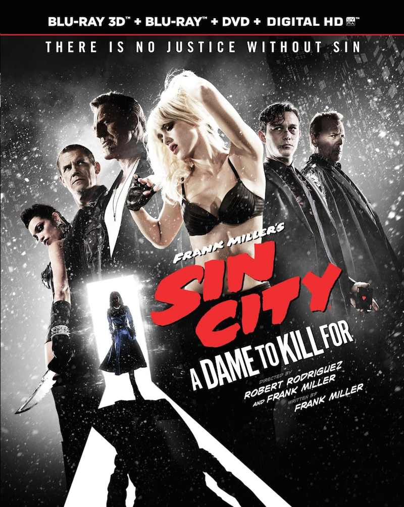 Sin City A Dame To Kill For cover