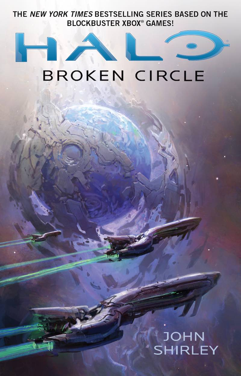 Halo Broken Circle John Shirley cover