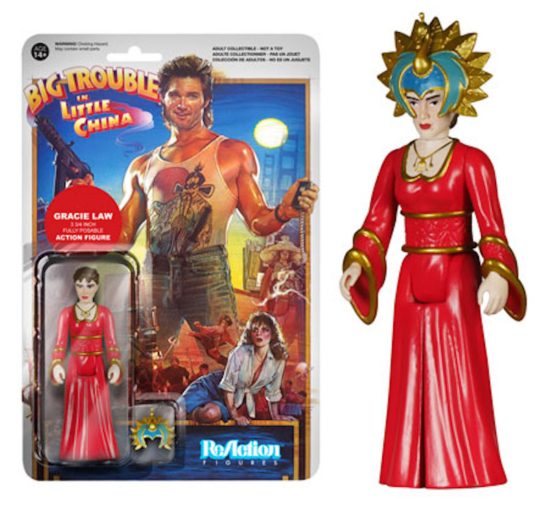 Funko ReAction Big Trouble In Little China Gracie Law