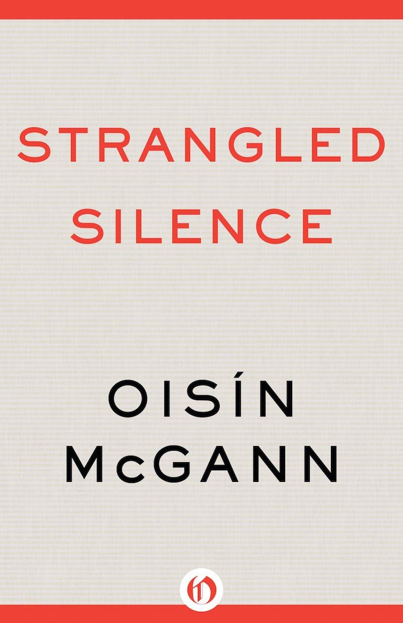 Oisín McGann Strangled Silence cover
