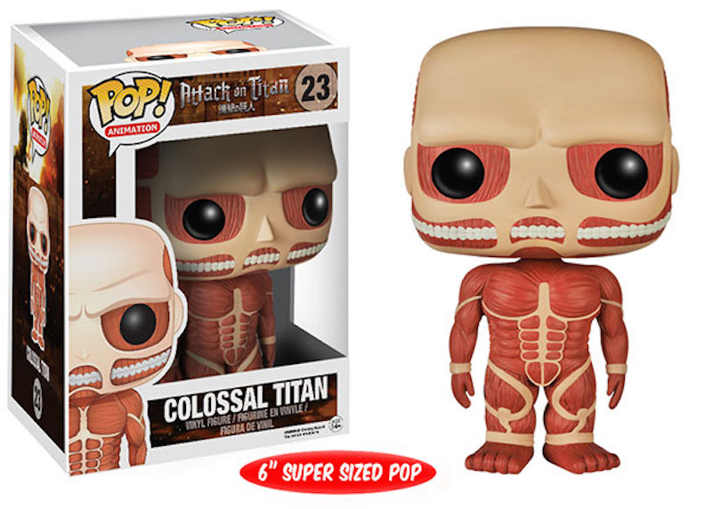 Funko POP Attack On Titan 23 Colossal Titan