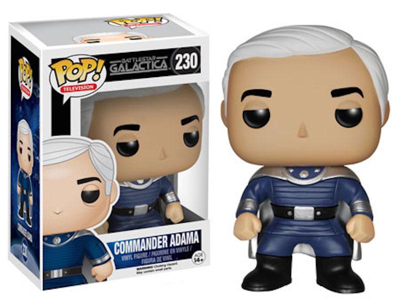 Funko Battlestar Galactica 230 Commander Adama