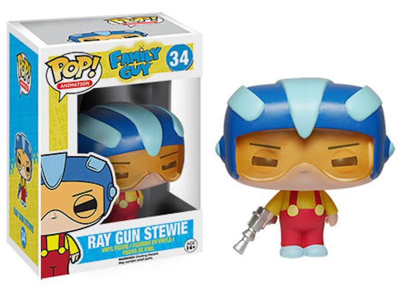 Funko Family Guy POP 34 Ray Gun Stewie