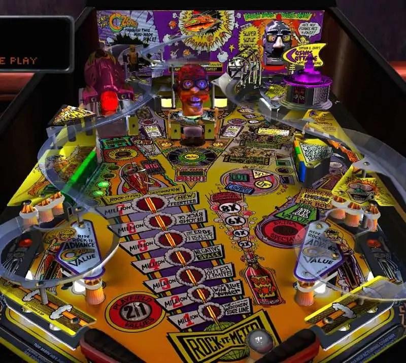 Pinball Arcade Season Four The Party Zone
