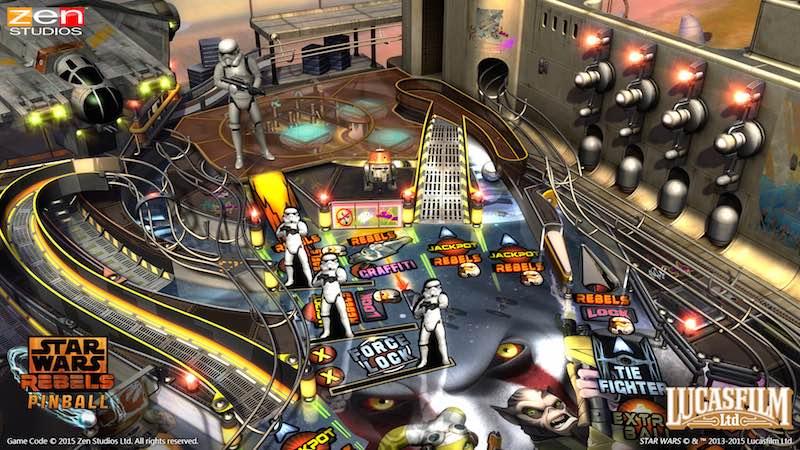Star Wars Rebels Zen Pinball 2 Pinball FX 2 03