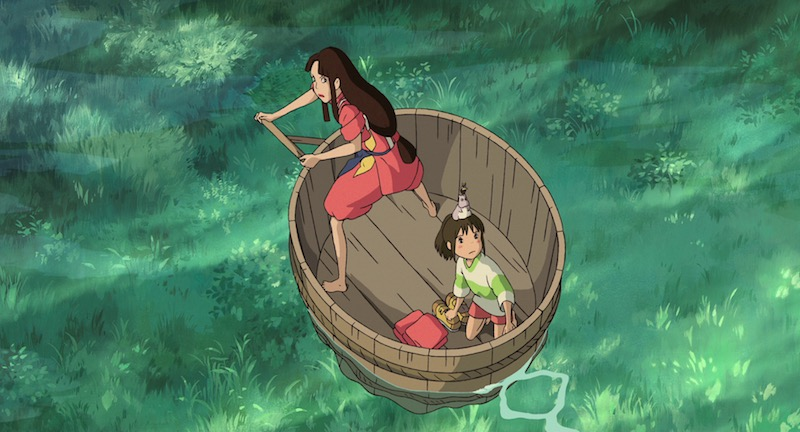 Spirited Away Blu-ray review 01