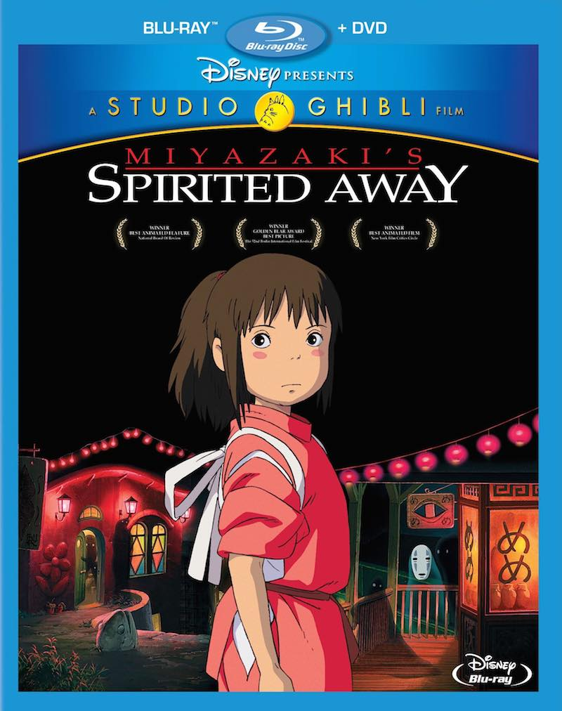 Spirited Away Bluray cover