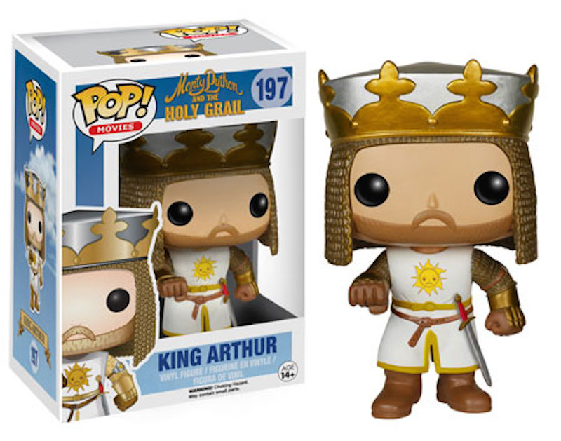 Funko Monty Python And The Holy Grail POP! 197 King Arthur