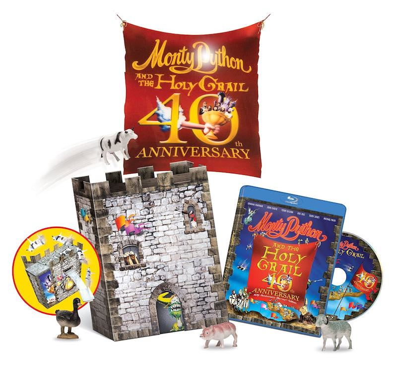 Monty Python And The Holy Grail 40th Anniversary Edition gift set