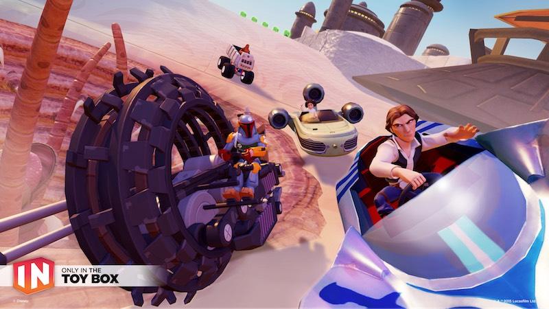 Disney Infinity 3.0 Toy Box Speedway 01