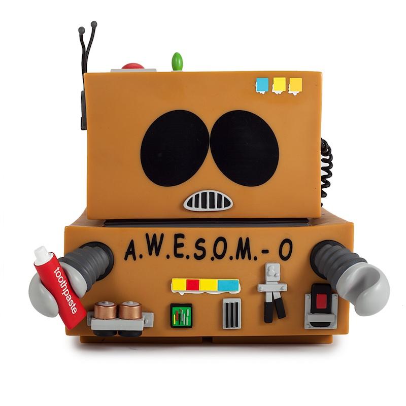 Kid Robot South Park A.W.E.S.O.M.-O. closed