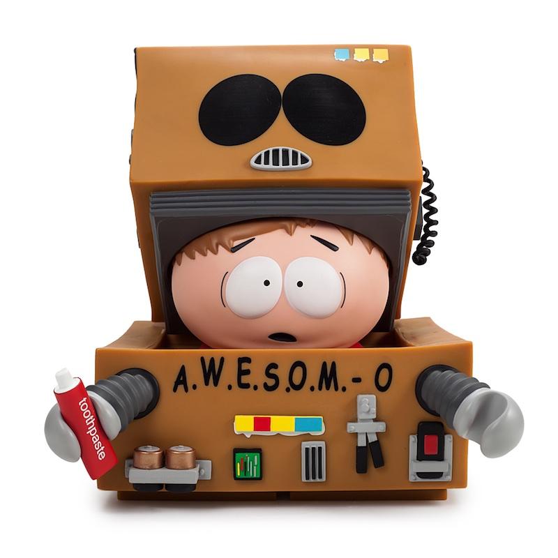 Kid Robot South Park A.W.E.S.O.M.-O. opened