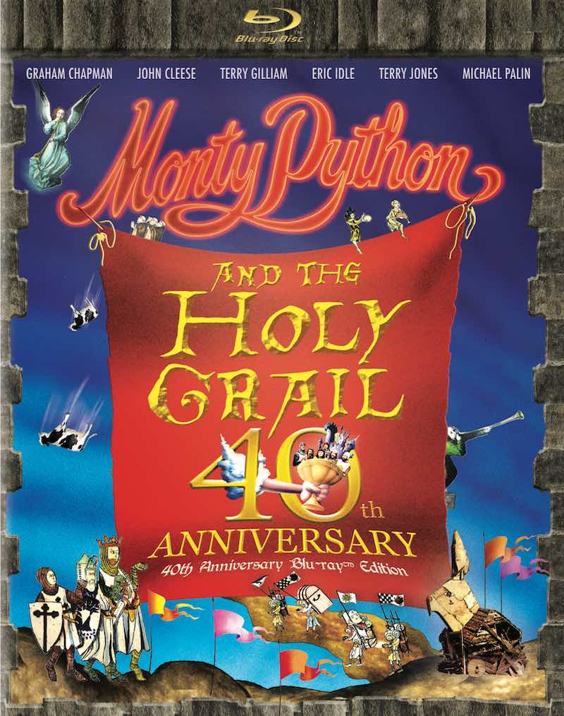 Monty Python And The Holy Grail 40th Anniversary Blu-ray Edition cover