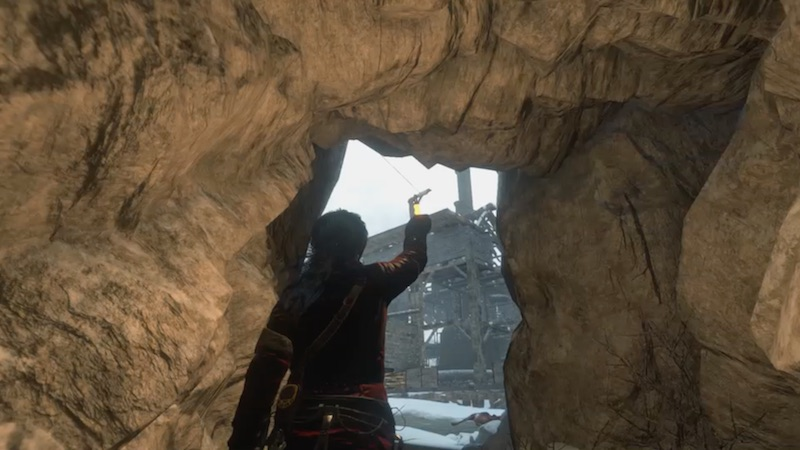 Rise Of The Tomb Raider end