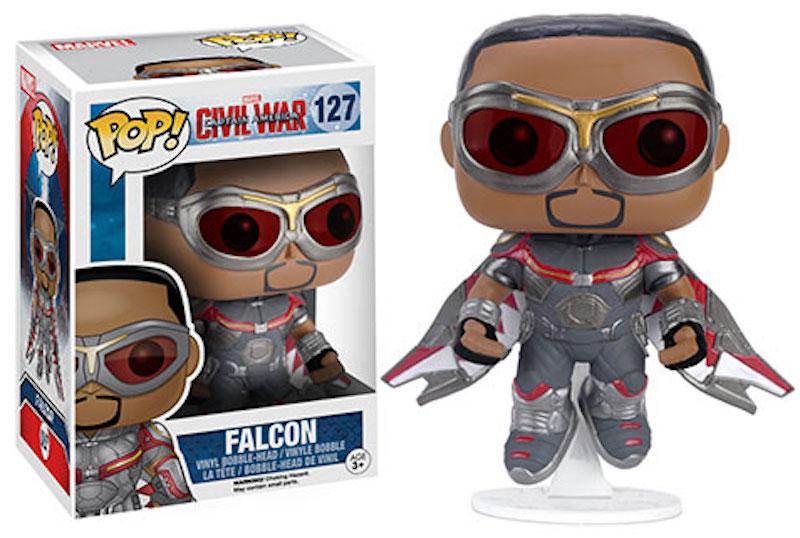 Funko POP! Marvel Captain America Civil War 127 Falcon