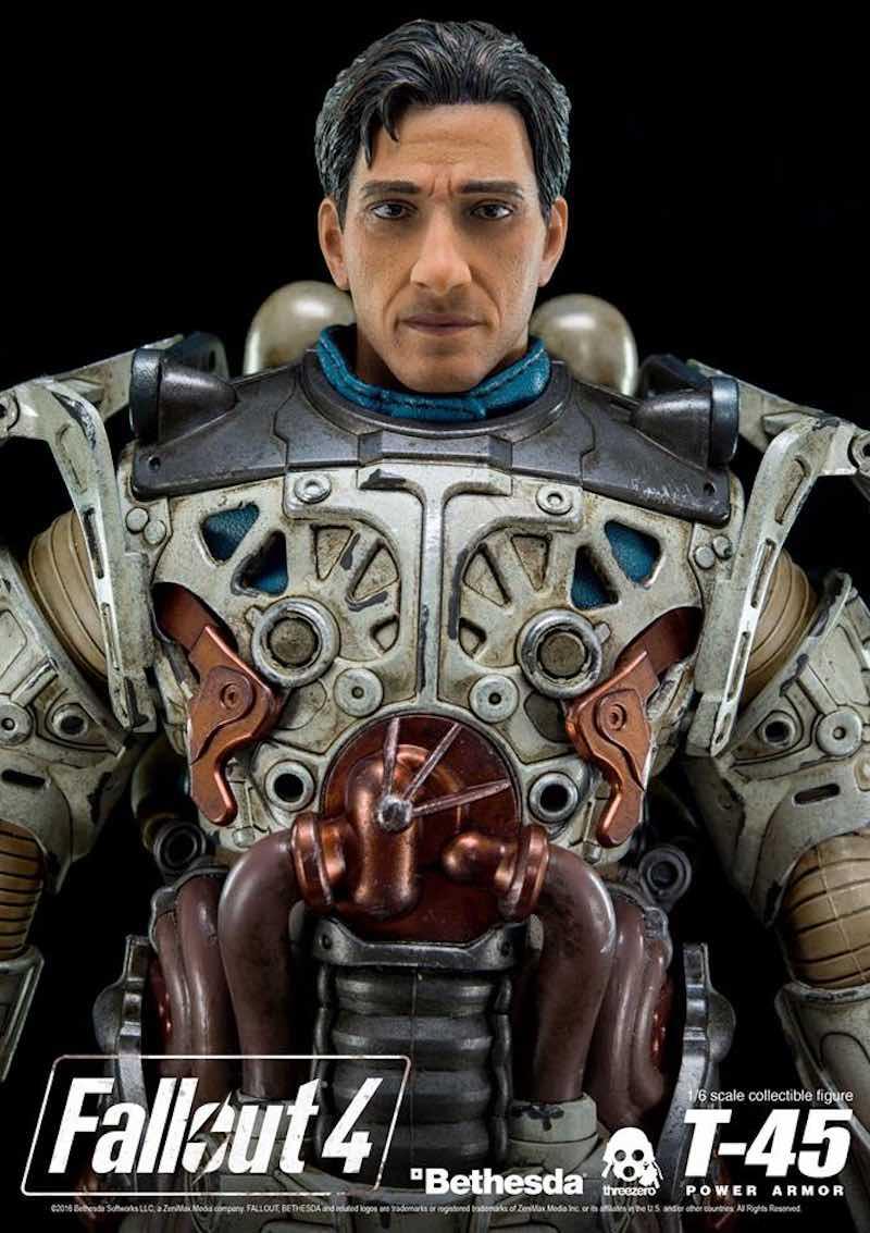 Threezero Fallout 4 unmasked