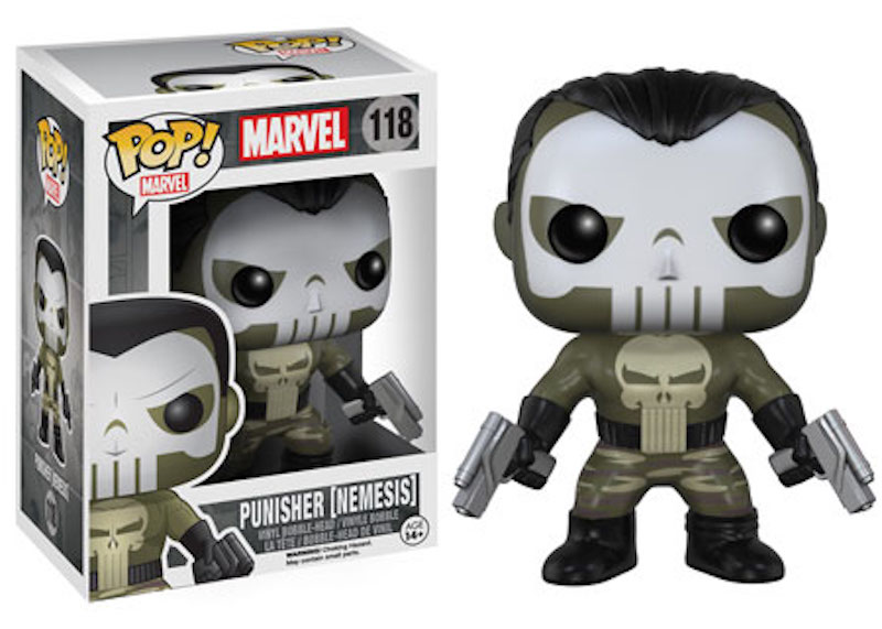 Funko Marvel Comics POP! 118 Punisher (Nemesis)