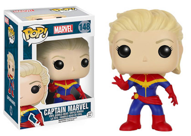 Funko Marvel Comics POP! 148 Captain Marvel