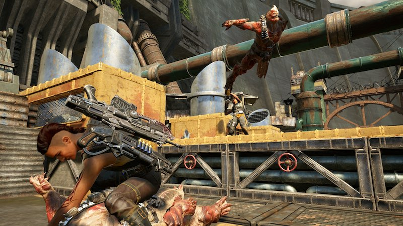 Gears Of War 4 Multiplayer Beta last