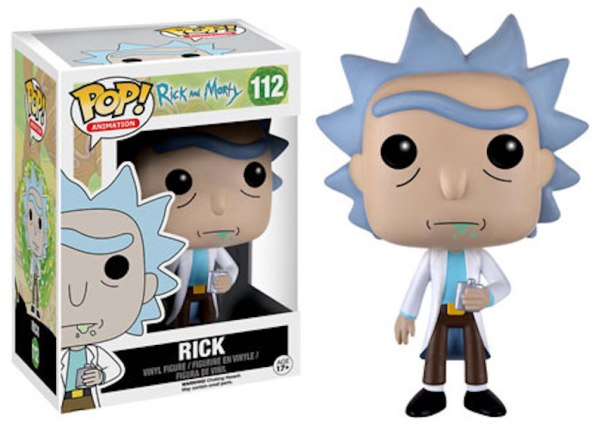 Funko Rick And Morty 112 Rick