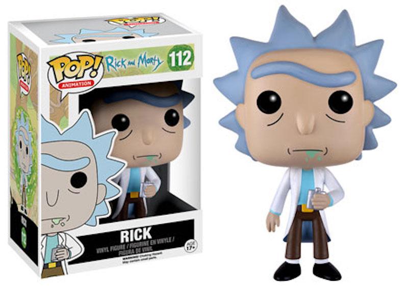 Funko Rick And Morty 112 Rick