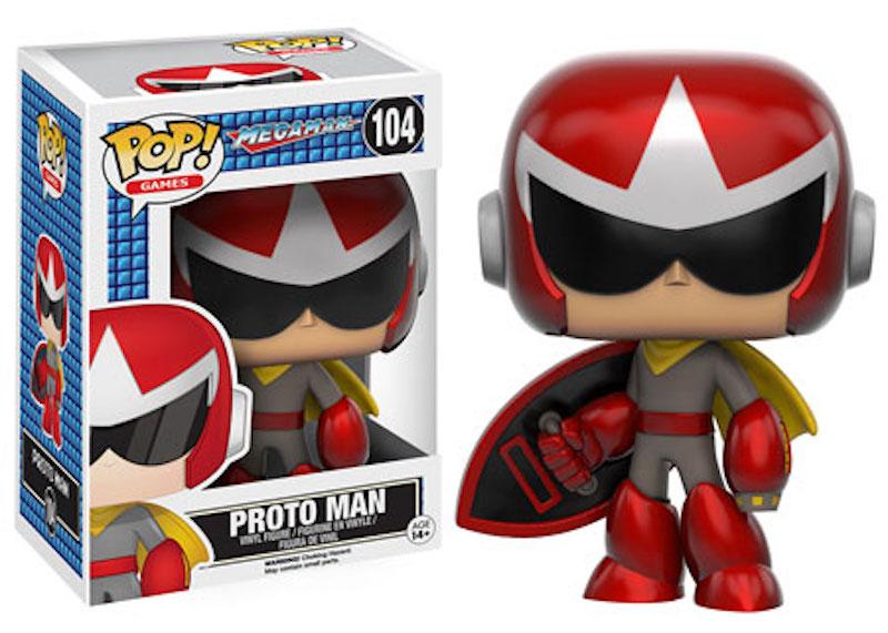 Funko POP! Mega Man 104 Proto Man