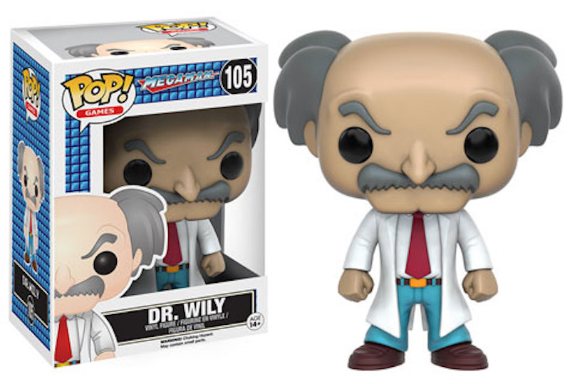 Funko POP! Mega Man 105 Dr. Wily