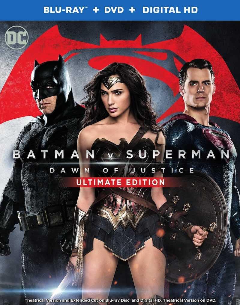 Batman V Superman Dawn Of Justice Ultimate Edition cover