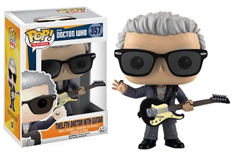 Funko POP Doctor Who 357 Twelfth Doctor With Guitar