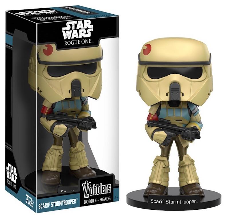 Funko Rogue One A Star Wars Story Wobblers Scarif Stormtrooper